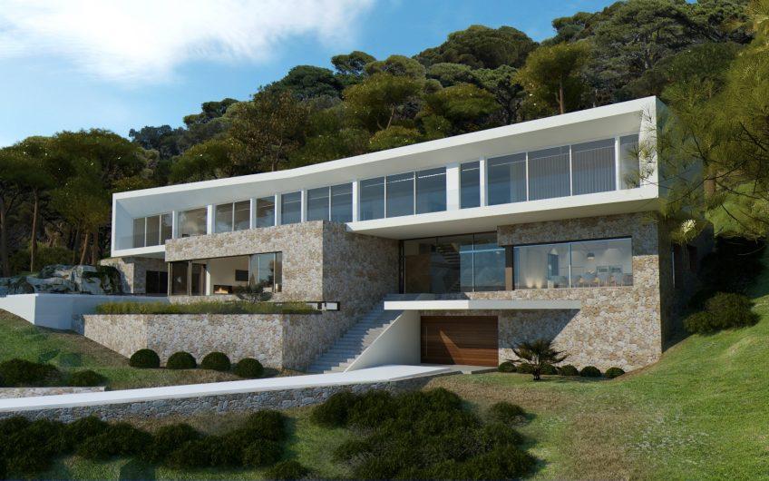 NEW VILLA PROJECT IN SOL DE MALLORCA 2 MIN. WALK TO CALA XADA 2.8M €